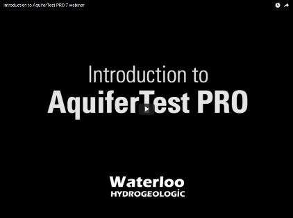 AquiferTest Pro 7.0