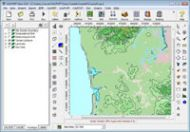 Automatic Download of Terrain and Land Use Data