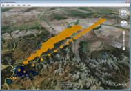 Puff Tracking Animations in Google Earth