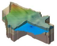 MODFLOW - 3D megjelnítés
